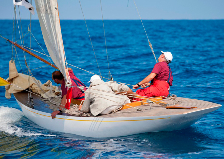 Quilla para classic yachts construction